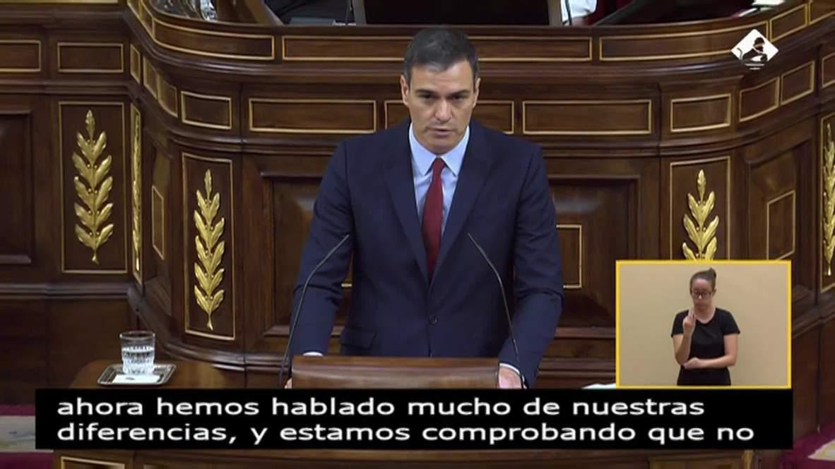 Spain: Socialist Sanchez seeks parliament support to form new government