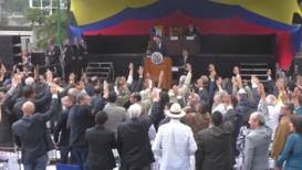 Venezuela: Opposition-led assembly rejoins treaty endorsing military intervention