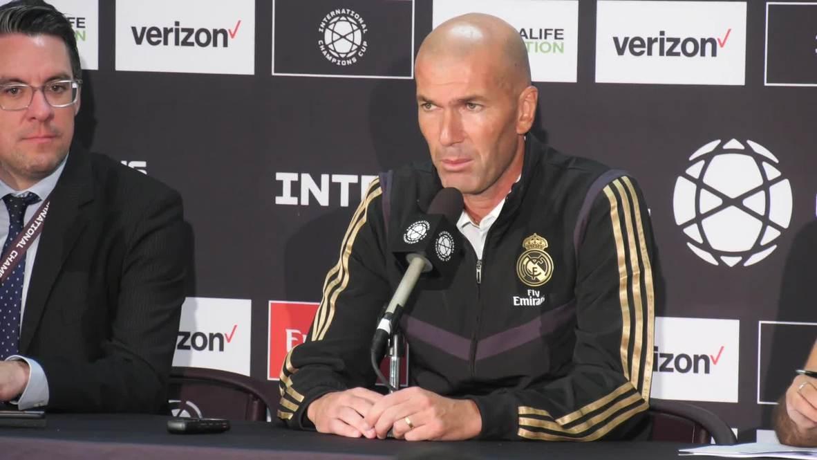 USA: Zidane ambiguous about Bale's future despite goal scoring return against Arsenal