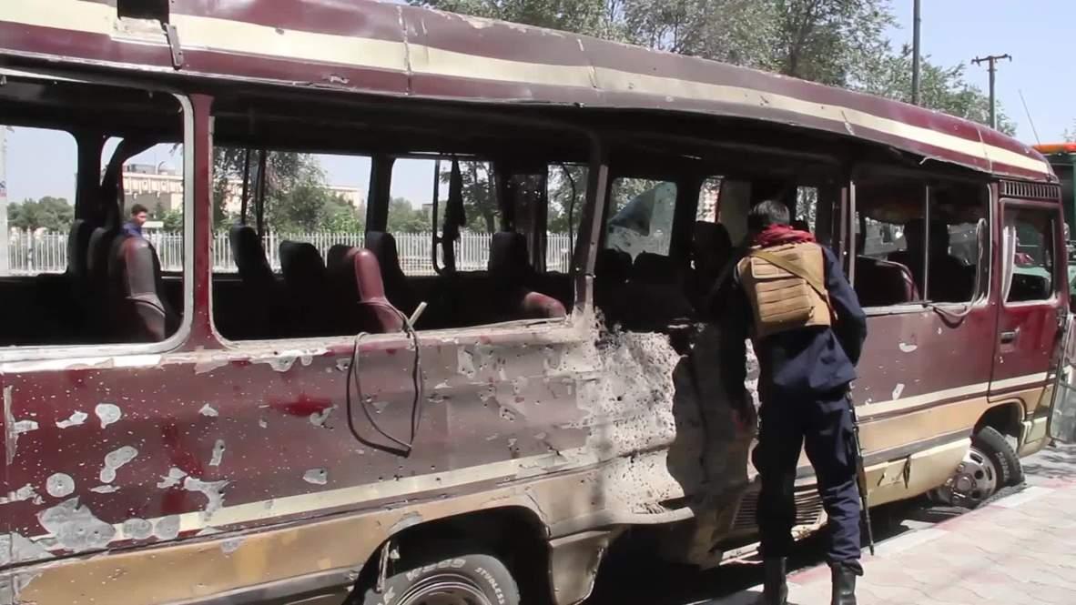 Afganistán: Al menos 8 muertos tras atentado contra funcionarios del gobierno en Kabul
