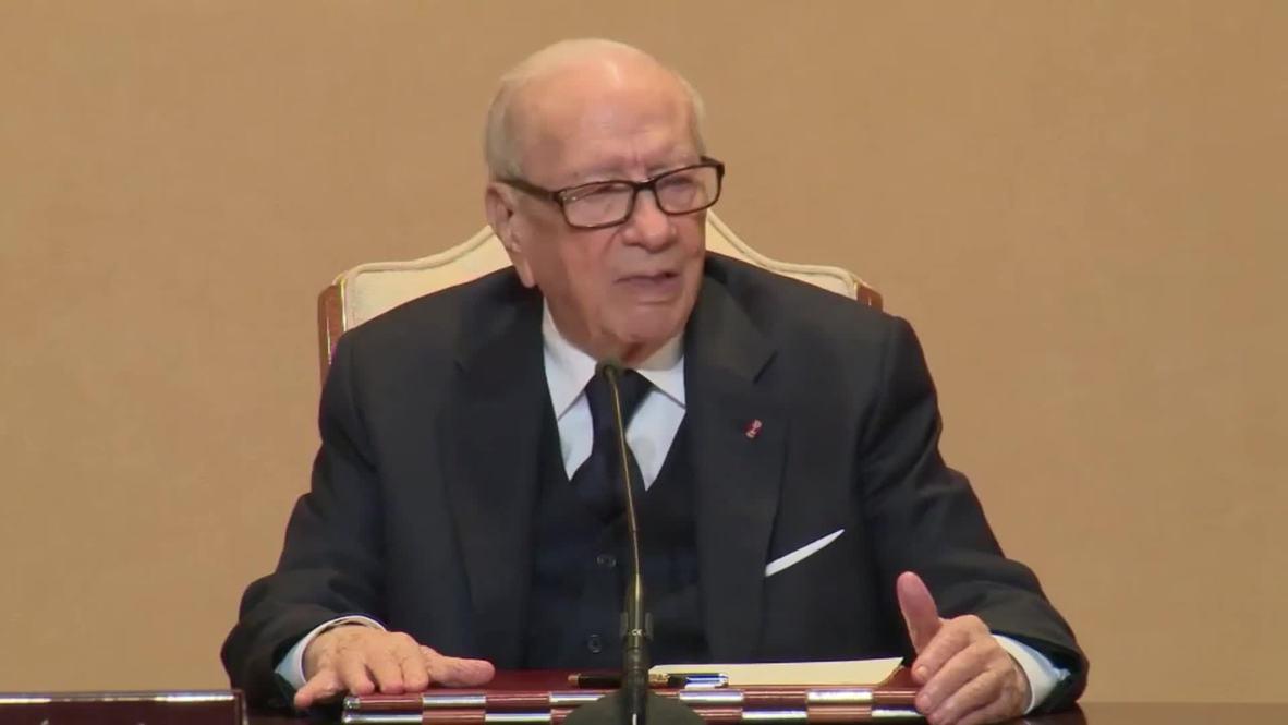 Tunisia: President Essebsi dies at age 92 *ARCHIVE*