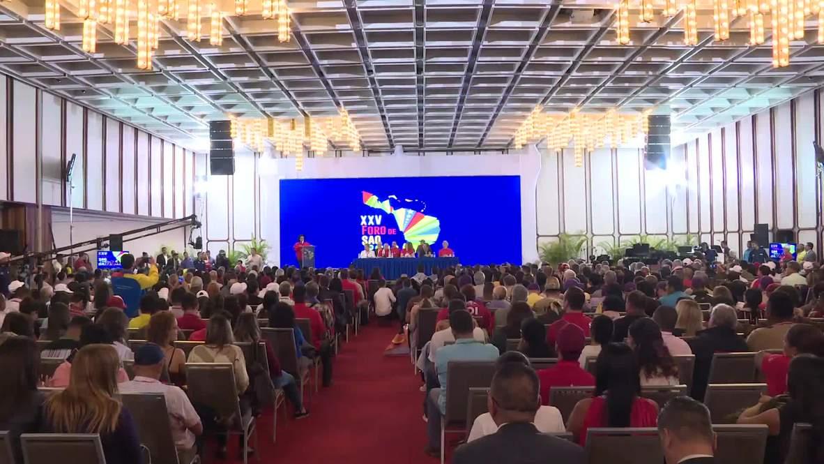 Venezuela: Inicia en Caracas la XXV edición del Foro de Sao Paulo