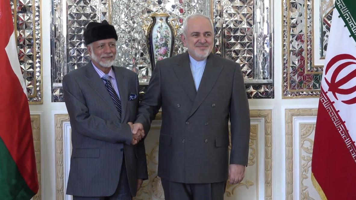 Iran: FM Zarif meets Omani counterpart to discuss Strait of Hormuz