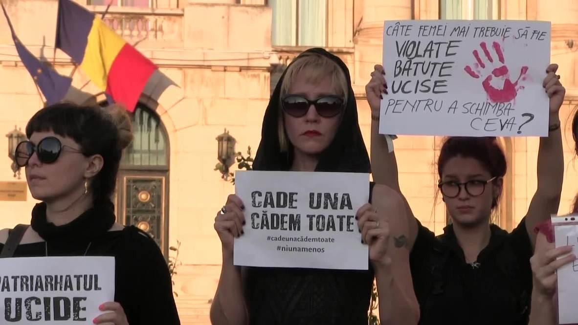 Rumanía: Manifestantes condenan la incompetencia de la policía tras el asesinato de una adolescente