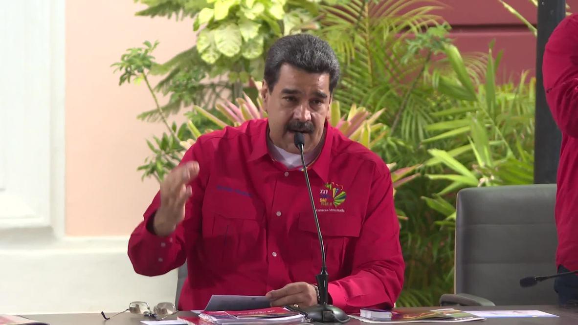 Venezuela: FARC leaders are 'welcome in Venezuela' – Maduro