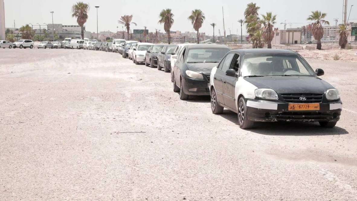 Libya: Petrol distributed via trucks amid Tripoli's debilitating fuel shortage