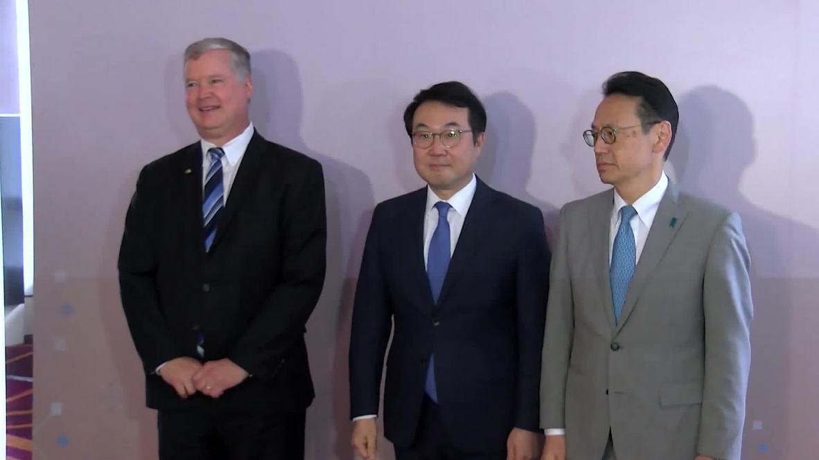 Tailandia: Enviado de EE.UU. para Corea del Norte se reúne con sus homólogos de Corea del Sur y Japón