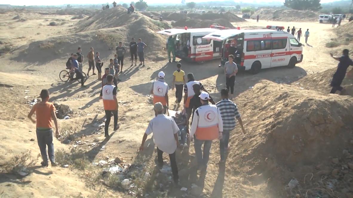 Palestina: Al menos 37 heridos por fuerzas israelíes durante protesta en la frontera de Gaza