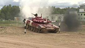 Россия: Второй день V Армейских международных игр отмечен гонками на танках