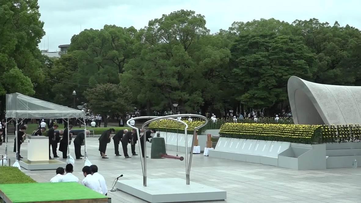 Japón: Hiroshima conmemora el 74 aniversario del lanzamiento de la bomba atómica