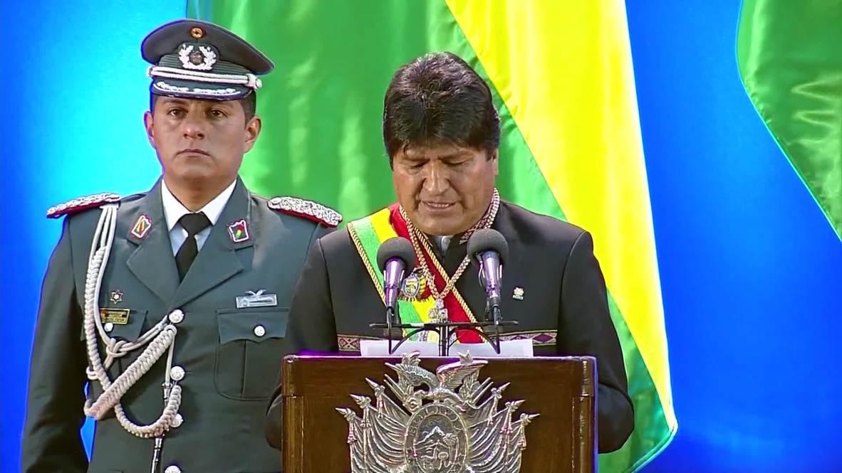 """Bolivia: Evo Morales asegura que quiere ser presidente de """"la mejor Bolivia"""" de la historia"""