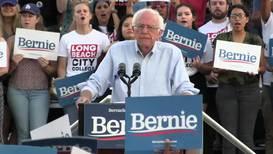 USA: Long Beach turns out for Bernie 2020 despite online threats