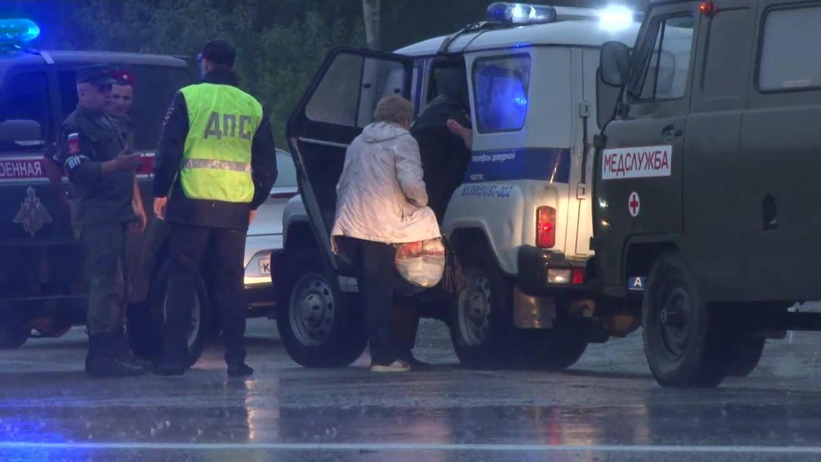 Россия: Восемь человек пострадали после взрыва под Ачинском - медицинские службы региона