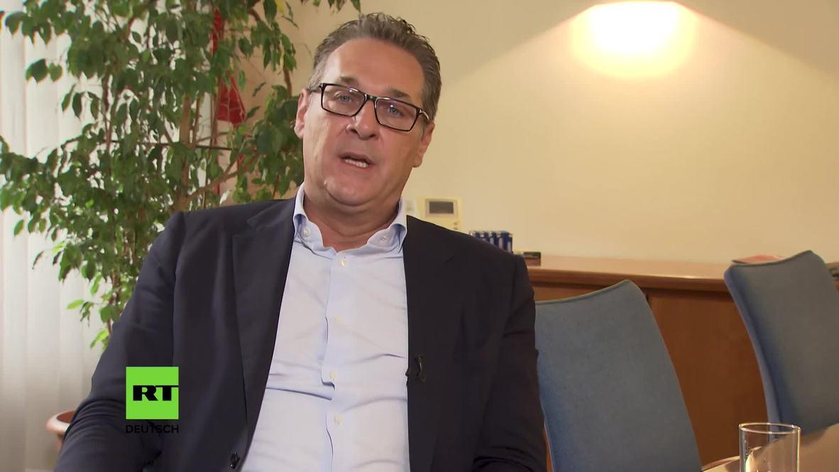 Austria: Strache accuses Kurz of breaking his word during Ibiza Affair *EXCLUSIVE* *PARTNER CONTENT*