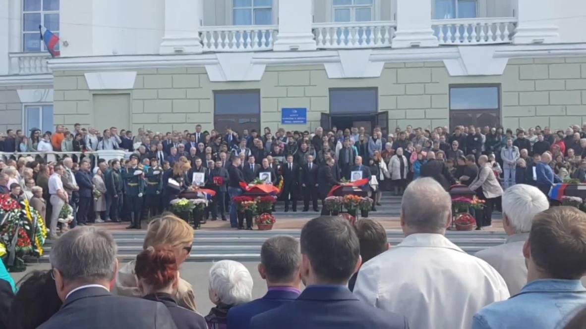 Russia: Memorial service held for Rosatom scientists killed in engine blast