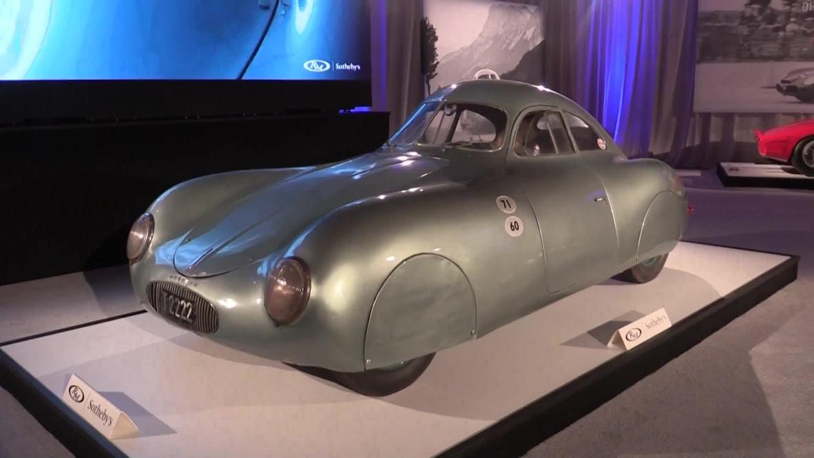USA: Oldest surviving Porsche auctioned at Monterey's 2019 Autoweek