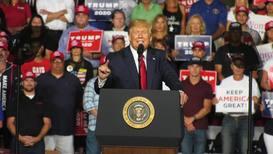 USA: Trump dismisses Democrats 'Nazi' comparison at 2020 campaign rally