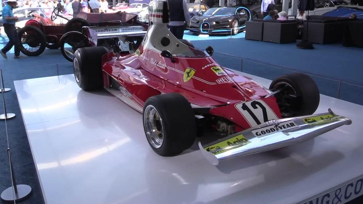 USA: F1-winning Ferrari, Steve McQueen bike auctioned at Monterey's Autoweek