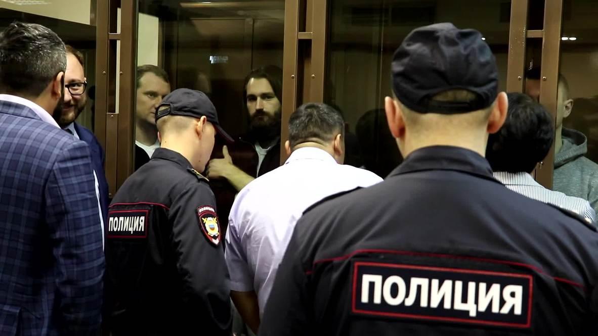 Россия: Суд оставил под стражей 6 задержанных в Керченском проливе украинских моряков