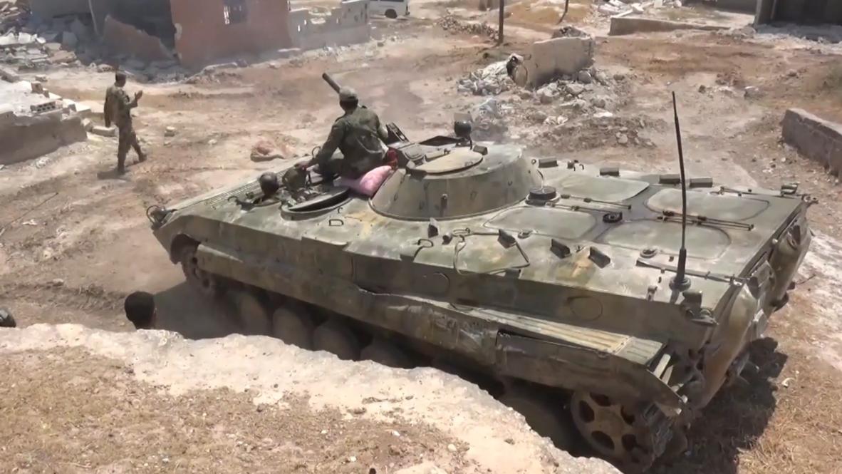 Siria: Continúan los combates mientras el Ejército Árabe Sirio se acerca a la ciudad estratégica de Jan Sheijun