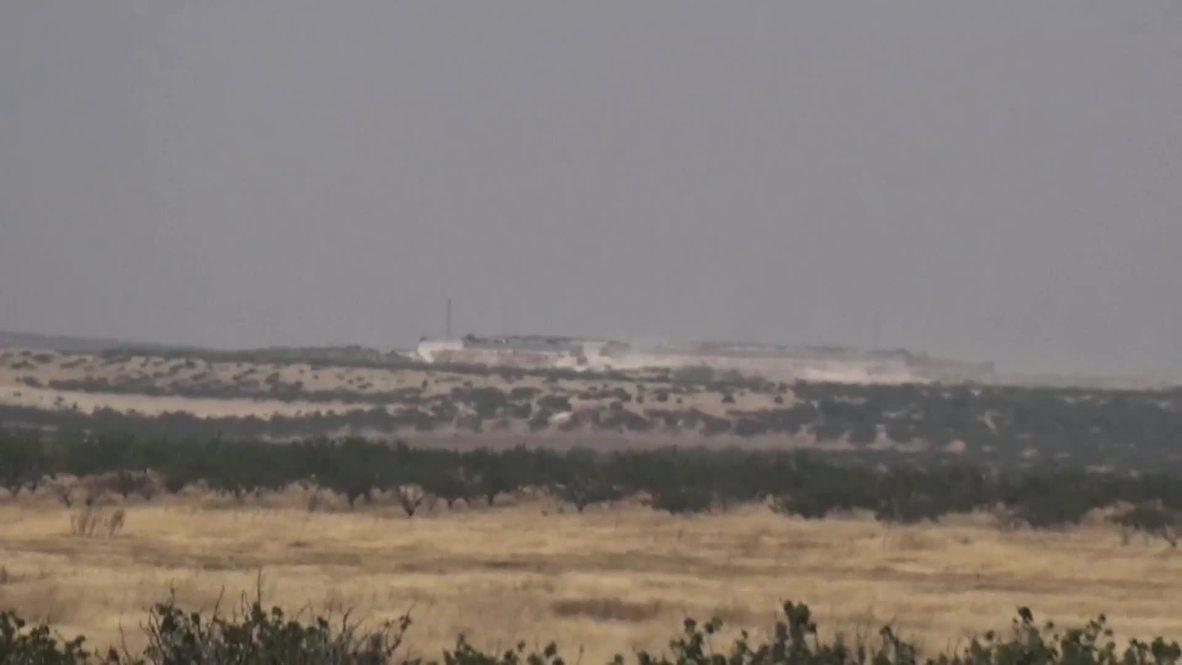 Siria: Turquía envía unidades militares a Siria