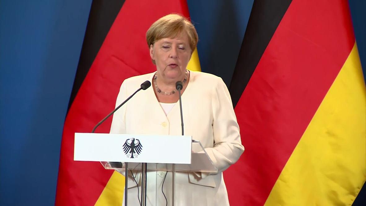 Hungary: Merkel thanks Hungary on 30th. anniv of 'Pan-European Picnic'