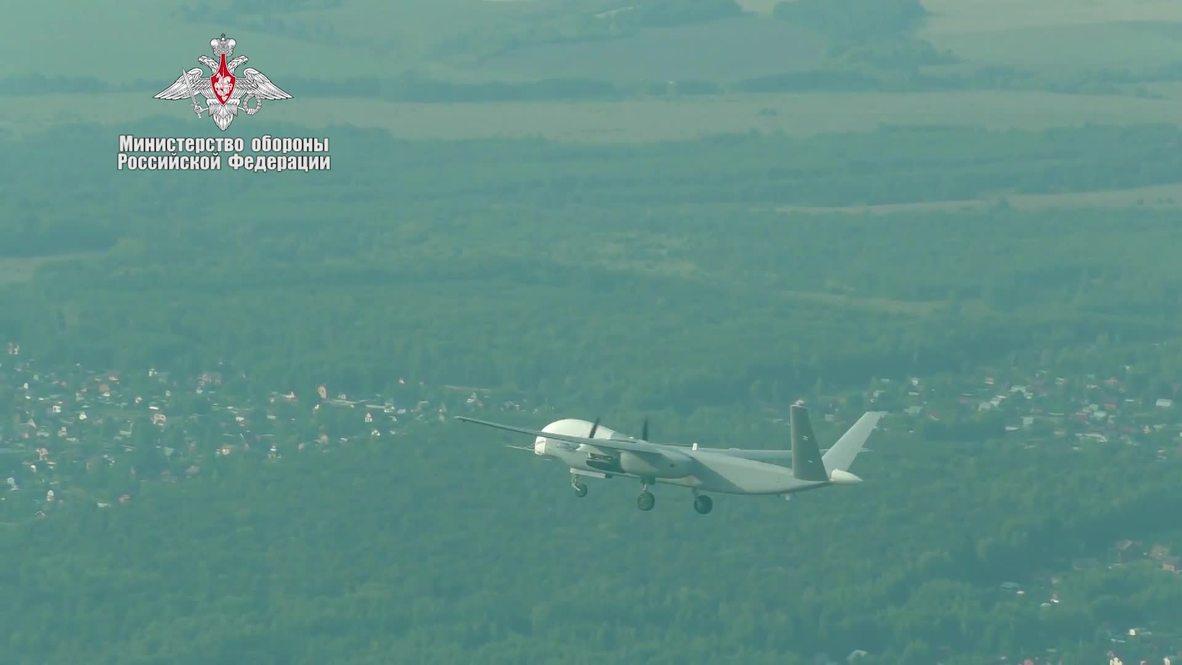 Russia: MoD's new reconnaissance drone makes maiden flight