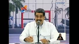 Venezuela: Maduro confirma que su Gobierno ha mantenido contactos con representantes de EE.UU.