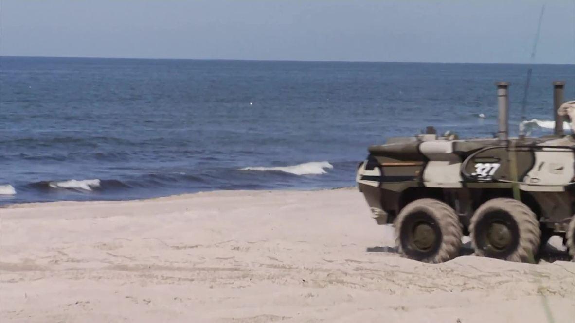Россия: Минобороны провело учения по высадке морского десанта под Калининградом