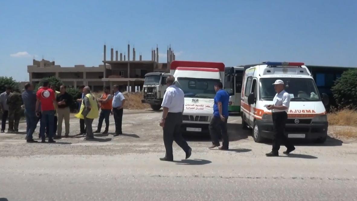 Siria: Corredor para civiles protegido por el ejército garantiza un paso seguro para salir de Idlib