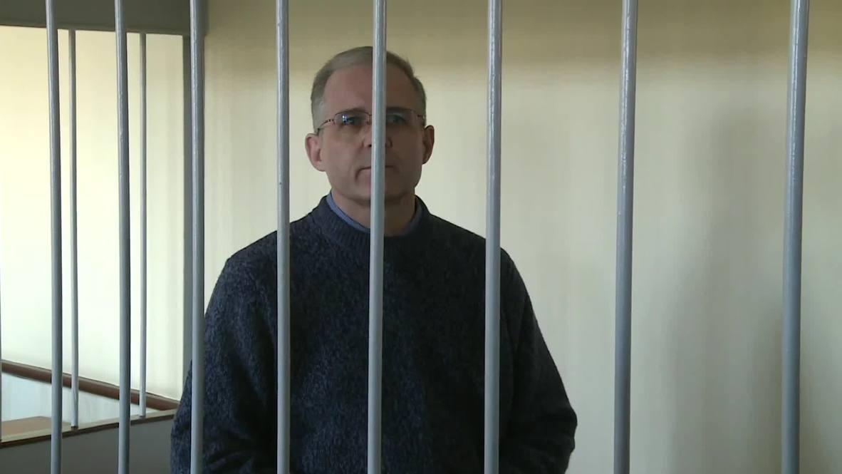 Rusia: El tribunal de Moscú prolonga la detención de Paul Whelan