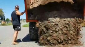 France: Eco-warriors dump vegetable patch on agri-giant Monsanto's doorstep