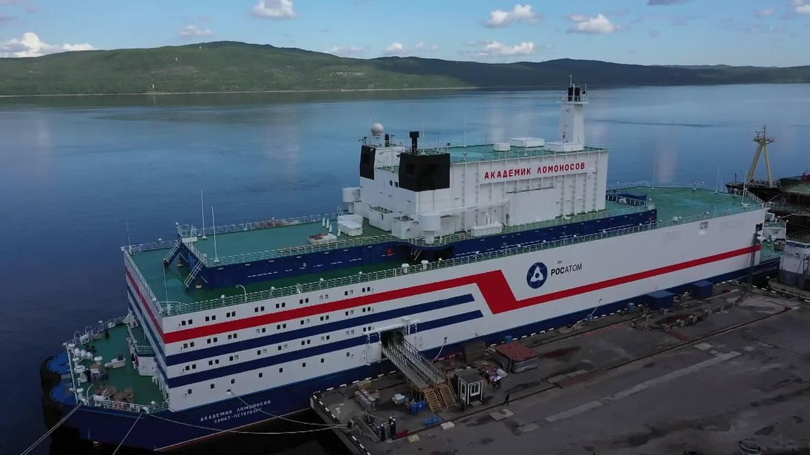 Rusia: Conozca detalles de la primera planta flotante de energía nuclear en el mundo