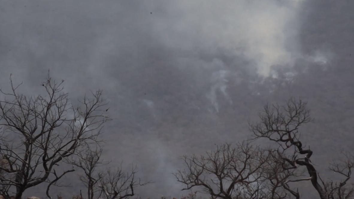 Bolivia: Avión cisterna 'SuperTanker' desplegado para combatir incendios en el Amazonas