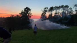 France: Police fire tear gas into G7 protest camp near Hendaye