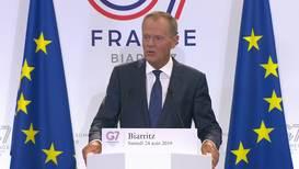 France: Tusk hopes 'common solutions' will trump 'senseless disputes' at G7
