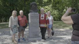 США: Бюст Юрия Гагарина открыли в Русском культурном саду в Кливленде