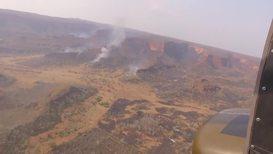 Bolivia: Bomberos toman el cielo en la batalla contra las llamas de Chiquitos