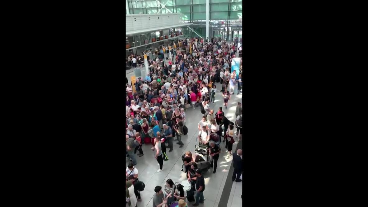 Alemania: Evacuan terminal del aeropuerto de Múnich durante una operación policial