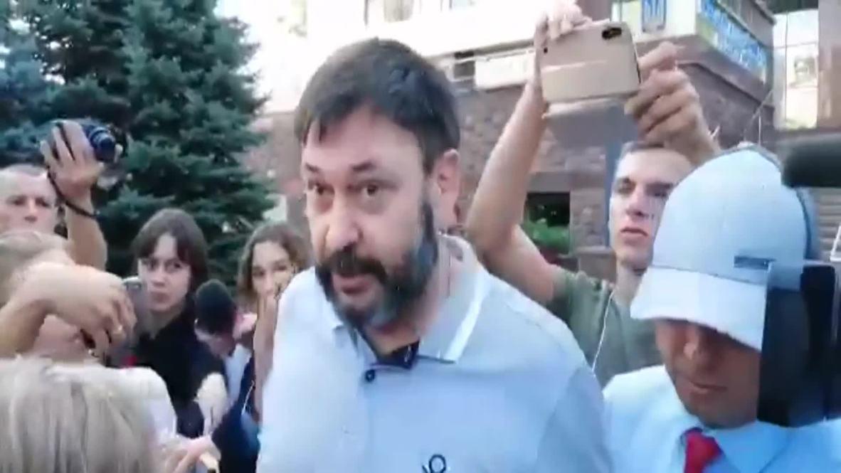 Украина: Первые шаги Кирилла Вышинского после освобождения под личное поручительство
