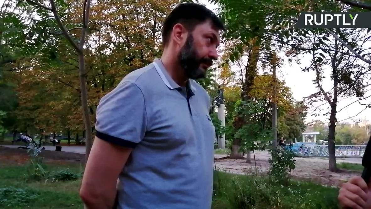 """Украина:""""Я буду заниматься профессией"""" – Вышинский в эксклюзивном интервью после изменения меры пресечения"""