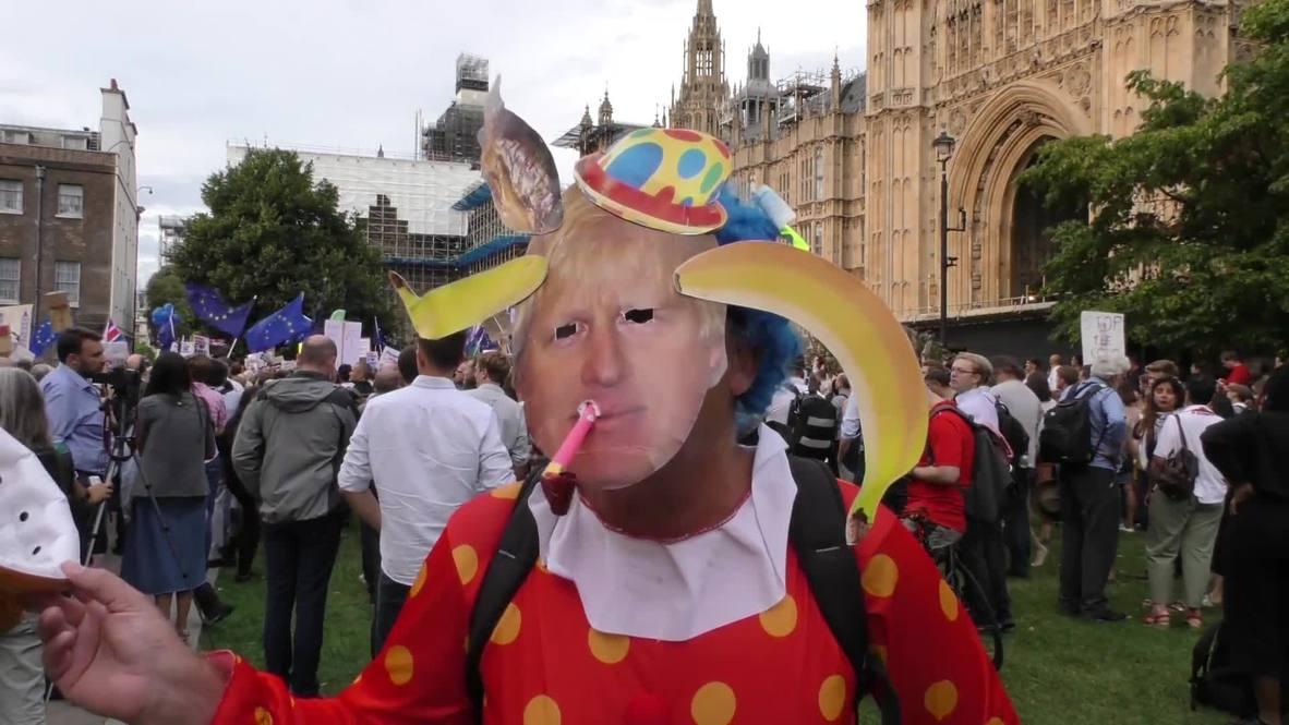 UK: Backlash as PM suspends Parliament