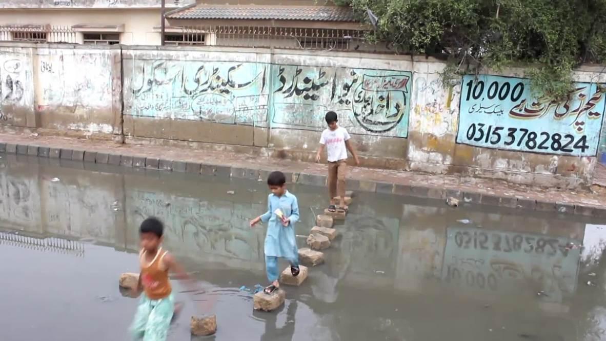 Pakistán: Pronostican fuertes lluvias en la ya inundada ciudad de Karachi