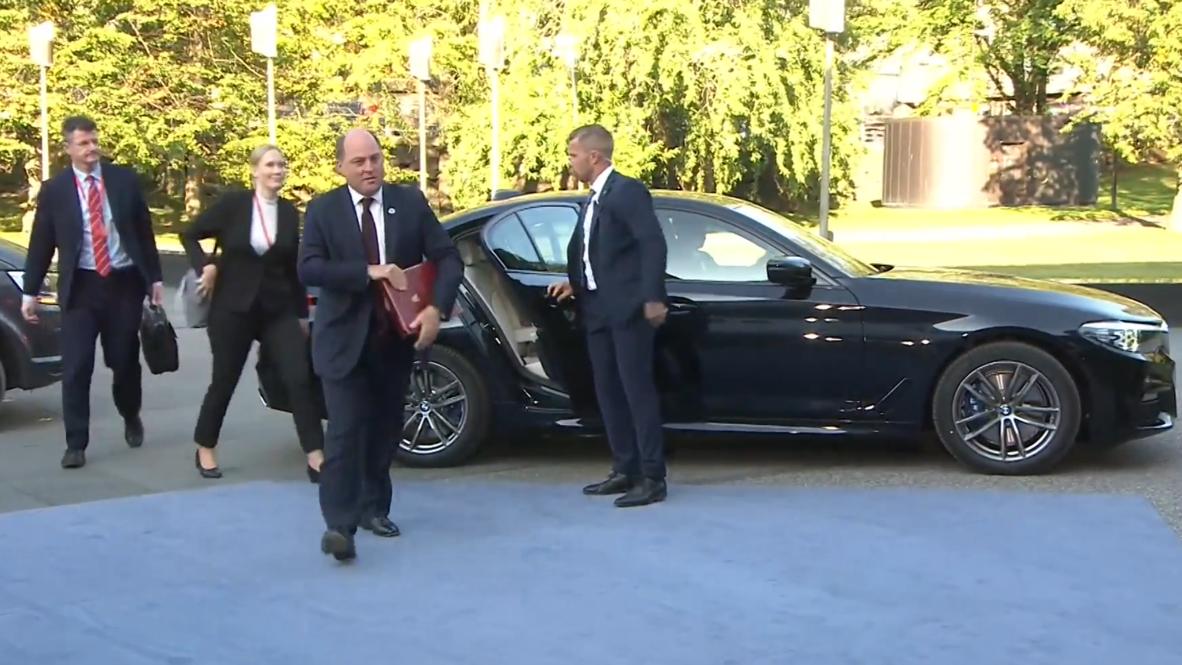 Finland: UK Def Sec shrugs off parliament suspension outcry at EU meeting