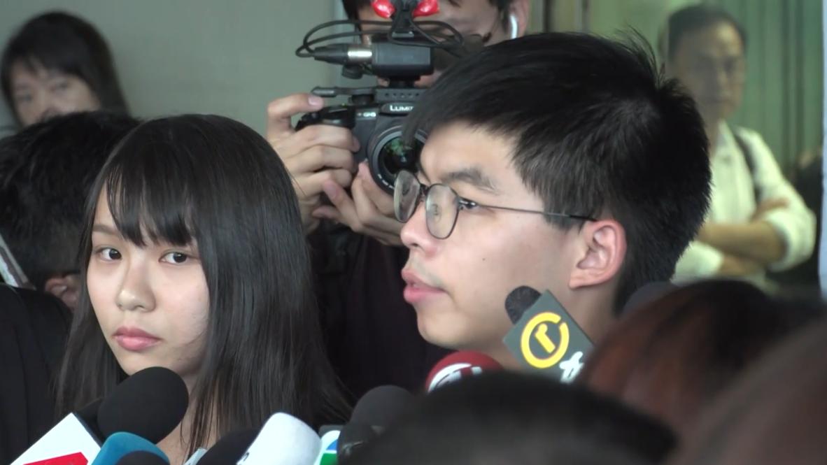 Hong Kong: 'We shall never surrender' - protest leader after arrests