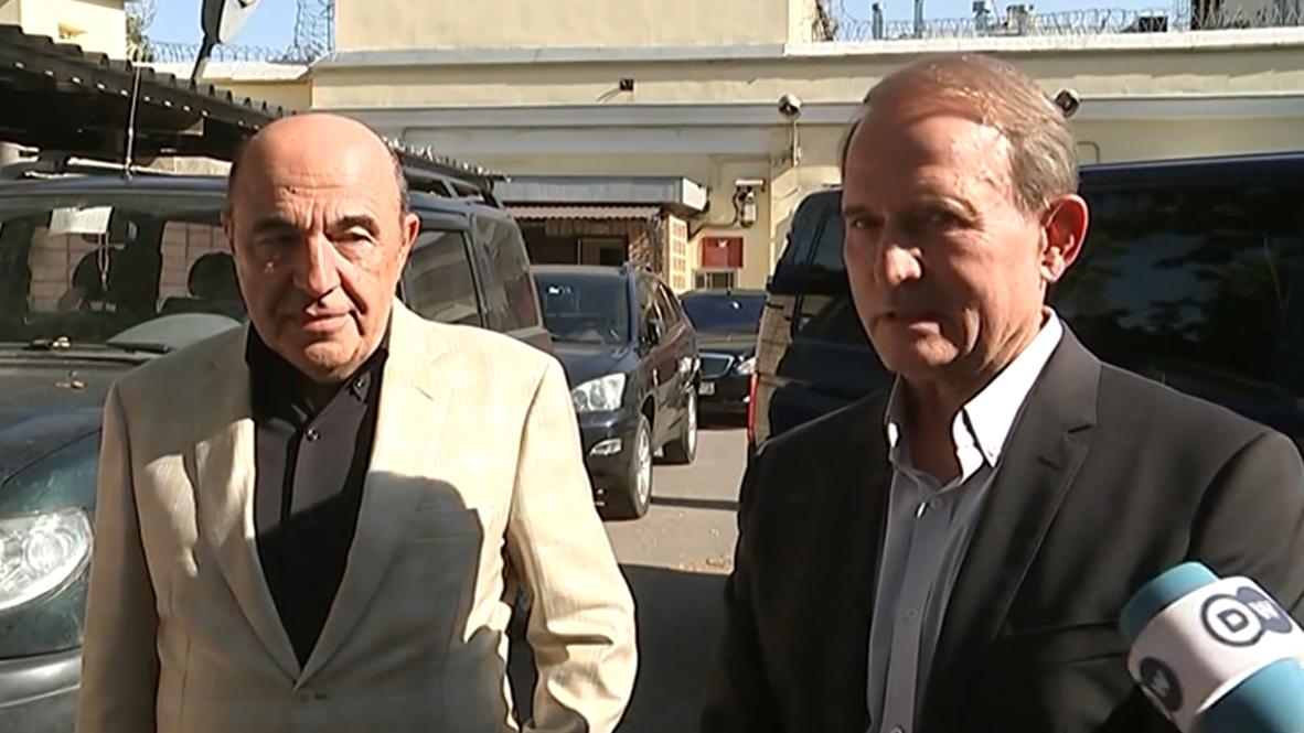 Russia: Ukrainian politicians Medvedchuk and Rabinovich in Moscow amid prisoner swap talks
