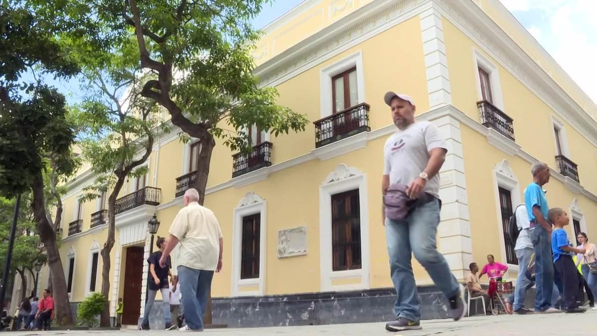 Venezuela: FM Arreaza says FARC re-arming 'exclusive responsibility' of Duque