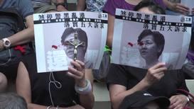 Hong Kong: Protesters 'pray for Hong Kong' at religious rally