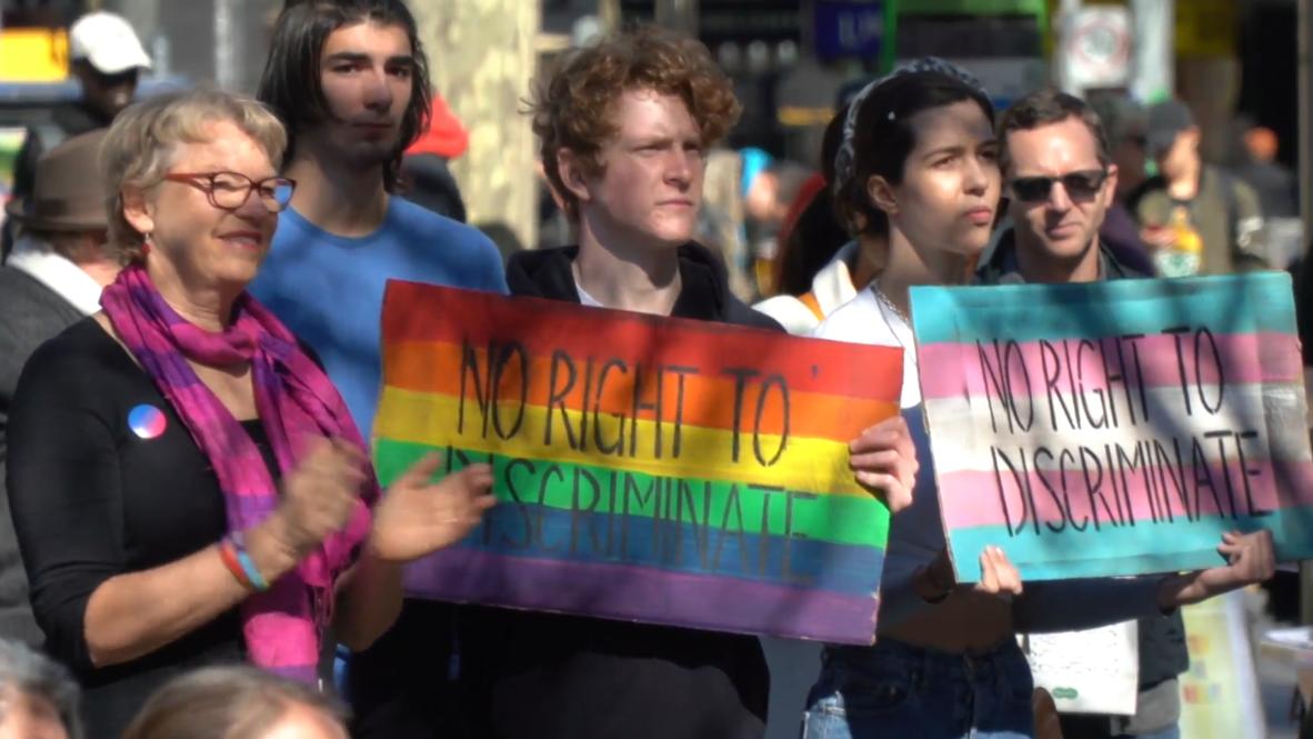 Australia: LGBTQ activists protest against religious bill in Melbourne