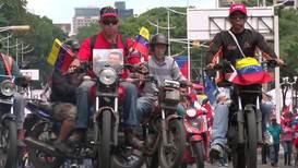 Venezuela: Exigen el fin del bloqueo de EE.UU. a Venezuela en una multitudinaria marcha